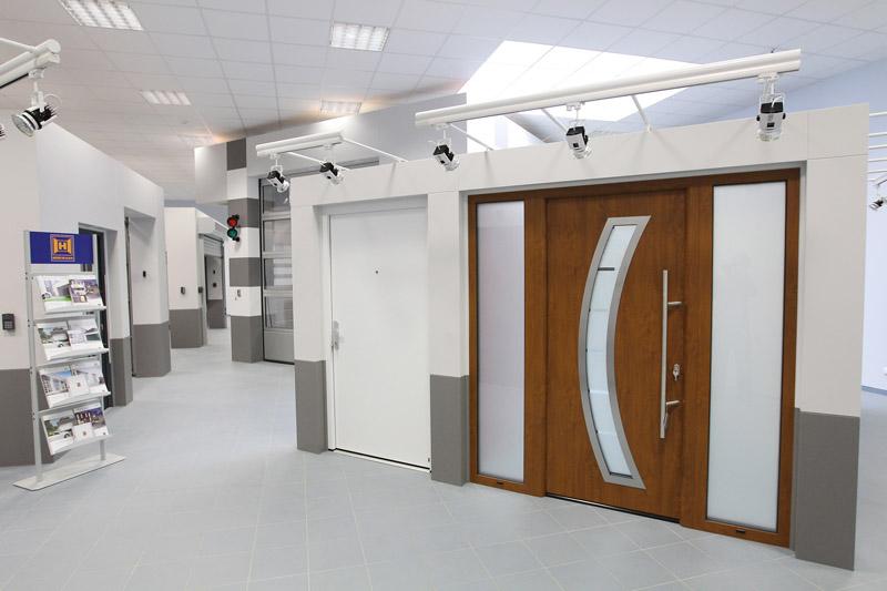 Domovní dveře ThermoPro Plus v nově otevřené vzorkovně v sídle společnosti