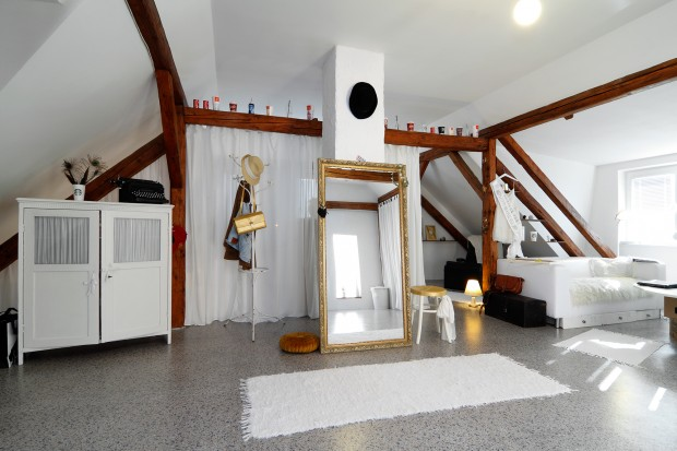 Povedená rekonstrukce podkroví starého venkovského domu