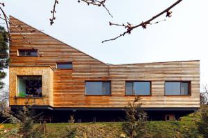Architekt postavil dům, který lahodí nejen jeho oku, ale i celkové scenerii
