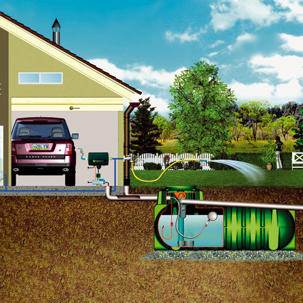 Veškeré spotřebiče, které potřebujeme na systém napojit, musí mít nezávislé vedení, nepřipojené na vedení upravené pitné vody. (foto: Glynwed)