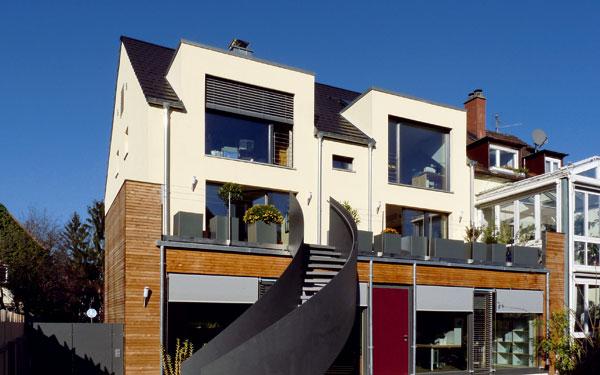 Pasivní standard se uplatňuje ipři rekonstrukcích. Majitelem domu vMannheimu (Německo) azároveň autorem projektu je úspěšný architekt pasivních domů Roland Matzing. (foto: Isover)