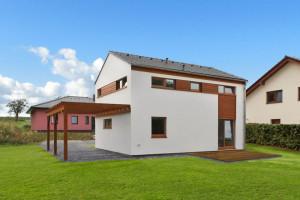 Vzorový dům KUBIS 631 u Hněvotína byl postaven už za 11 dní!