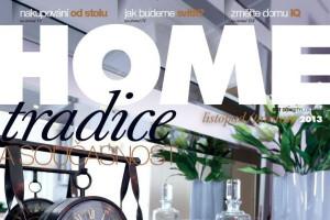 Zimní dvojčíslo časopisu HOME již v prodeji!