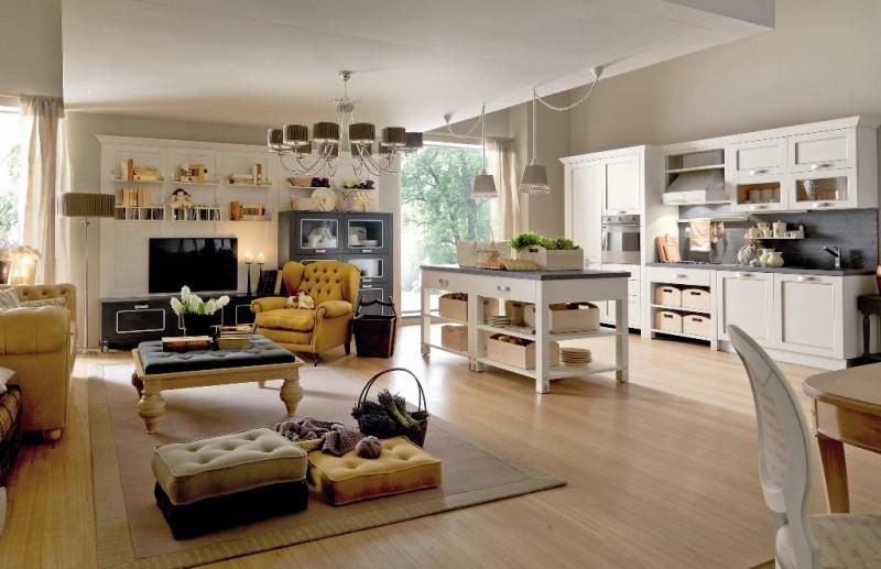 Současný trend otevřených interiérů klade větší nároky na stylové sladění