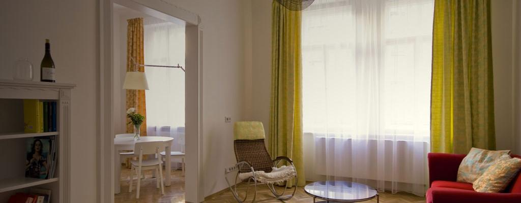Citlivá rekonstrukce činžovního bytu v Praze