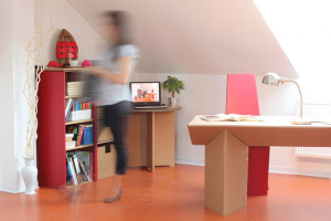 Papírový design – nábytek pro každého