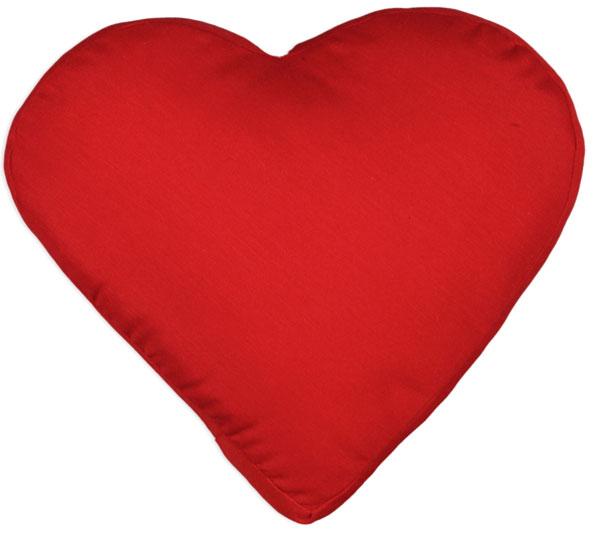 SCANquilt, polštář srdce (35 x 45 cm) − 450 Kč