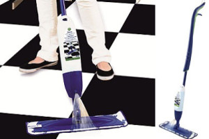 System Bona Spray Mop na čištění keramické dlažby, marmolea, vinylu, kamene