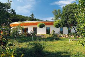 Neobvyklý pasivní dům nedaleko Brna