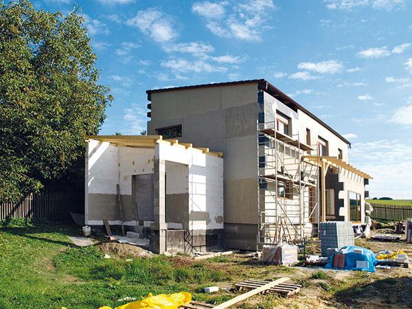 Výstavba pasivního domu svépomocí krok za krokem
