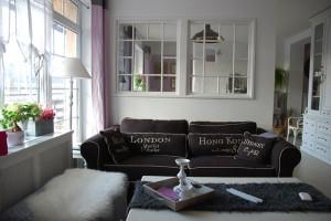 Romantický interiér v anglickém stylu