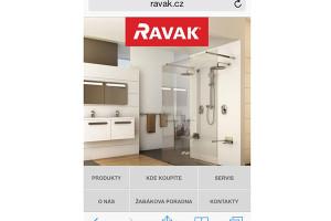 Najdi si nejbližší RAVAK přes mobil