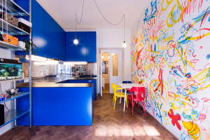 Secesní rebelie v modré aneb Jak vytvořit nekonvenční bydlení