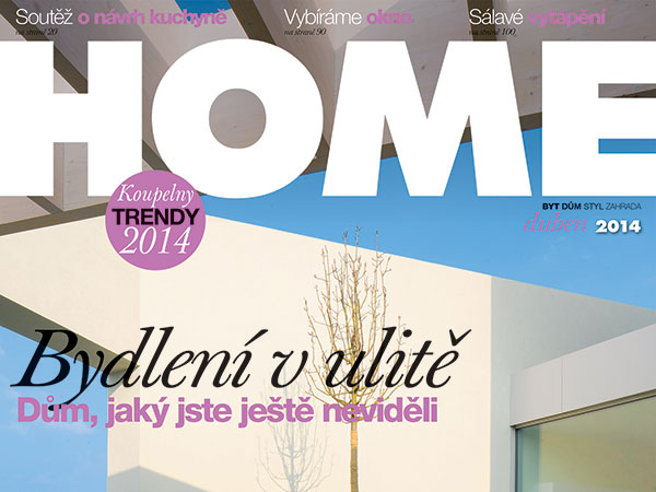 Nové, dubnové číslo HOME je již v prodeji