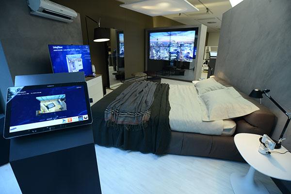 Samsung  představil domácnost budoucnosti na Design Weeku v Miláně