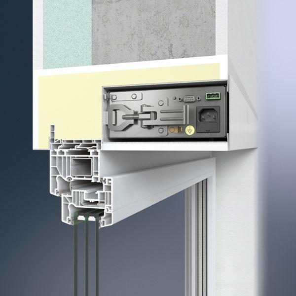 Ventilační jednotka Thermo LE s Schüco VentoTherm – skrytá úprava povrchu foto: Schüco CZ s.r.o.
