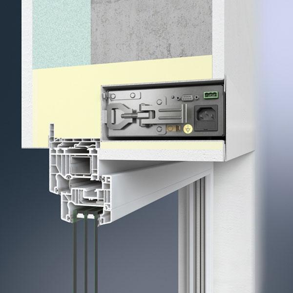Ventilační jednotka Thermo LE s Schüco VentoTherm – instalace pod omítku foto: Schüco CZ s.r.o.