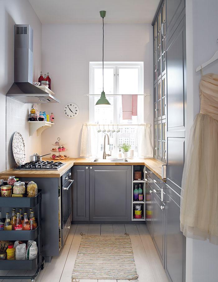 Uspořádaní Kuchyně Musí Mít Svou Logiku Home