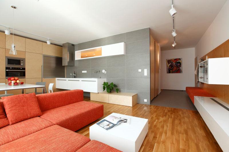 Inteligentní rekonstrukce třípokojového bytu