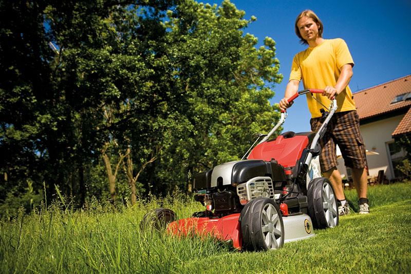 5 kroků ke krásnému a zdravému trávníku – Krok čtvrtý − SEČENÍ