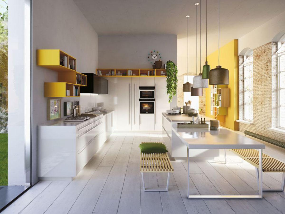 04_Snaidero_Code-giallo-curry-e-bianco-artico