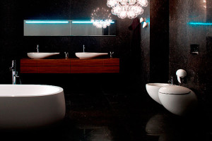 Koupelnové klenoty milánské designové přehlídky