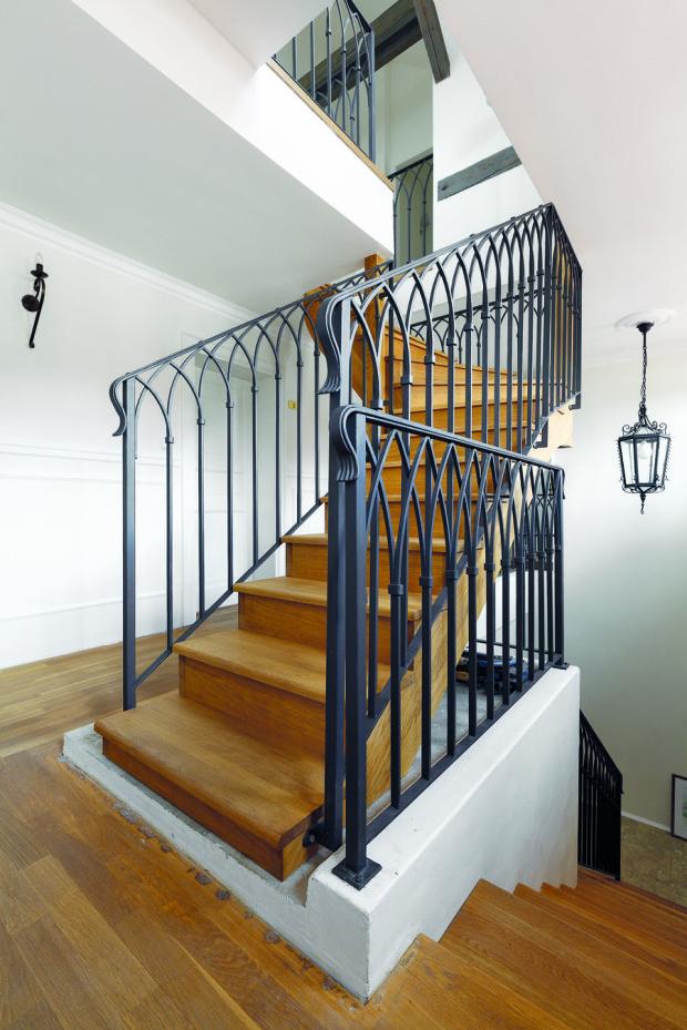 I schodiště musí být stylové – rozhodující může být i detail zábradlí.