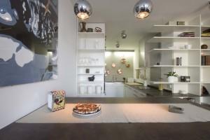 Panelákový byt v přírodních tlumených barvách