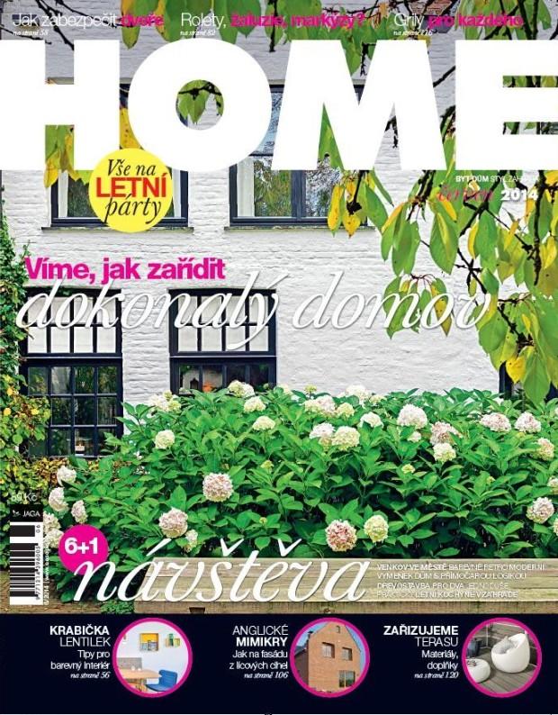 Červnové číslo časopisu HOME již v prodeji!