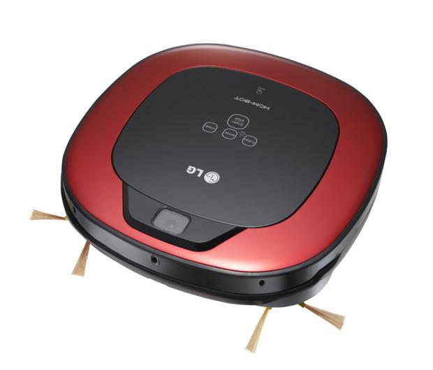 Výkonný robotický vysavač LG HOM-BOT Square je efektivním domácím pomocníkem pro každodenní úklid.