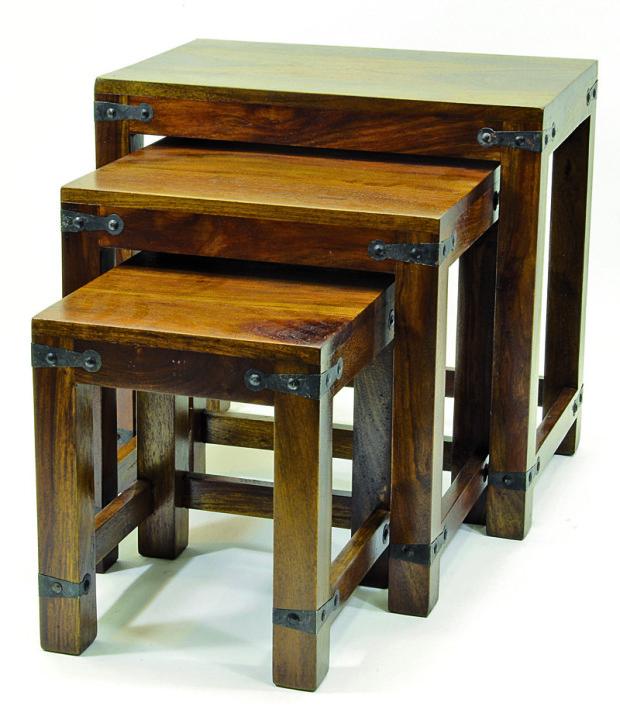 Set 3 stoliček