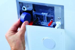 Možnost vhazování WC tablet do splachovací nádržky