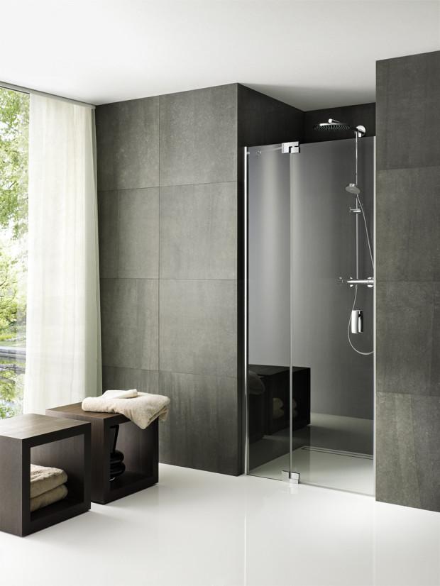 Série Valletta - bezpodlahové řešení sprchových koutů