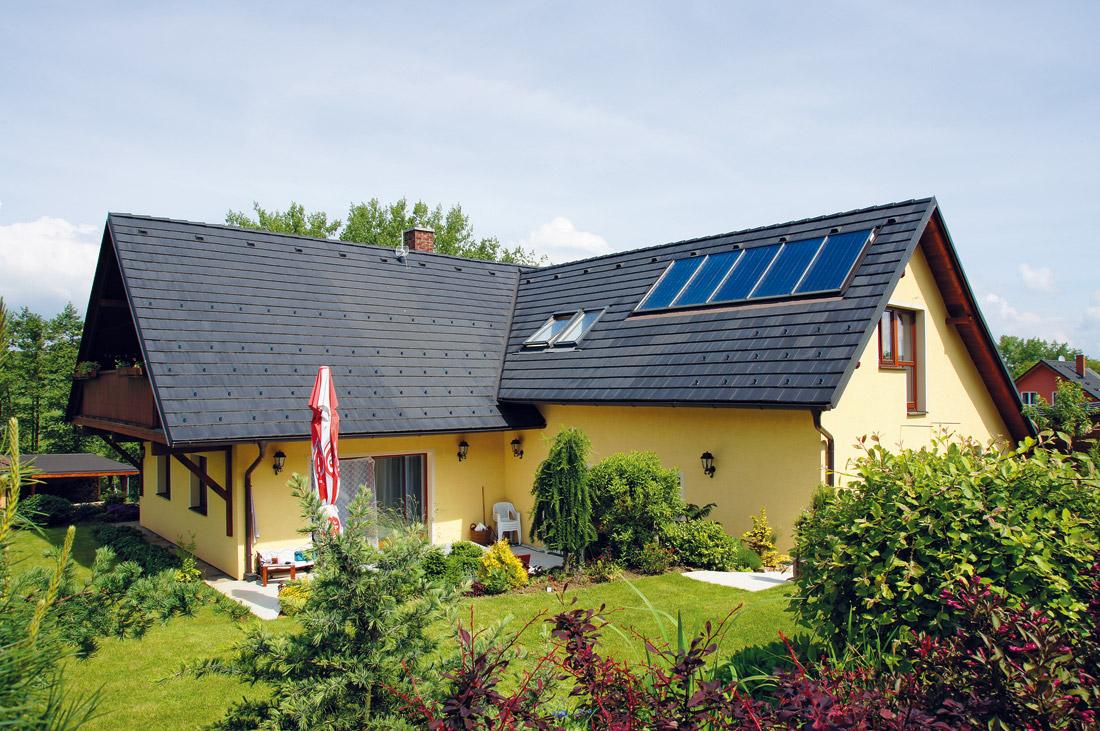 Romantický rodinný dům, který ctí místní tradice