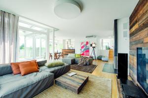 Elegantní byt s originální atmosférou hotelových pokojů