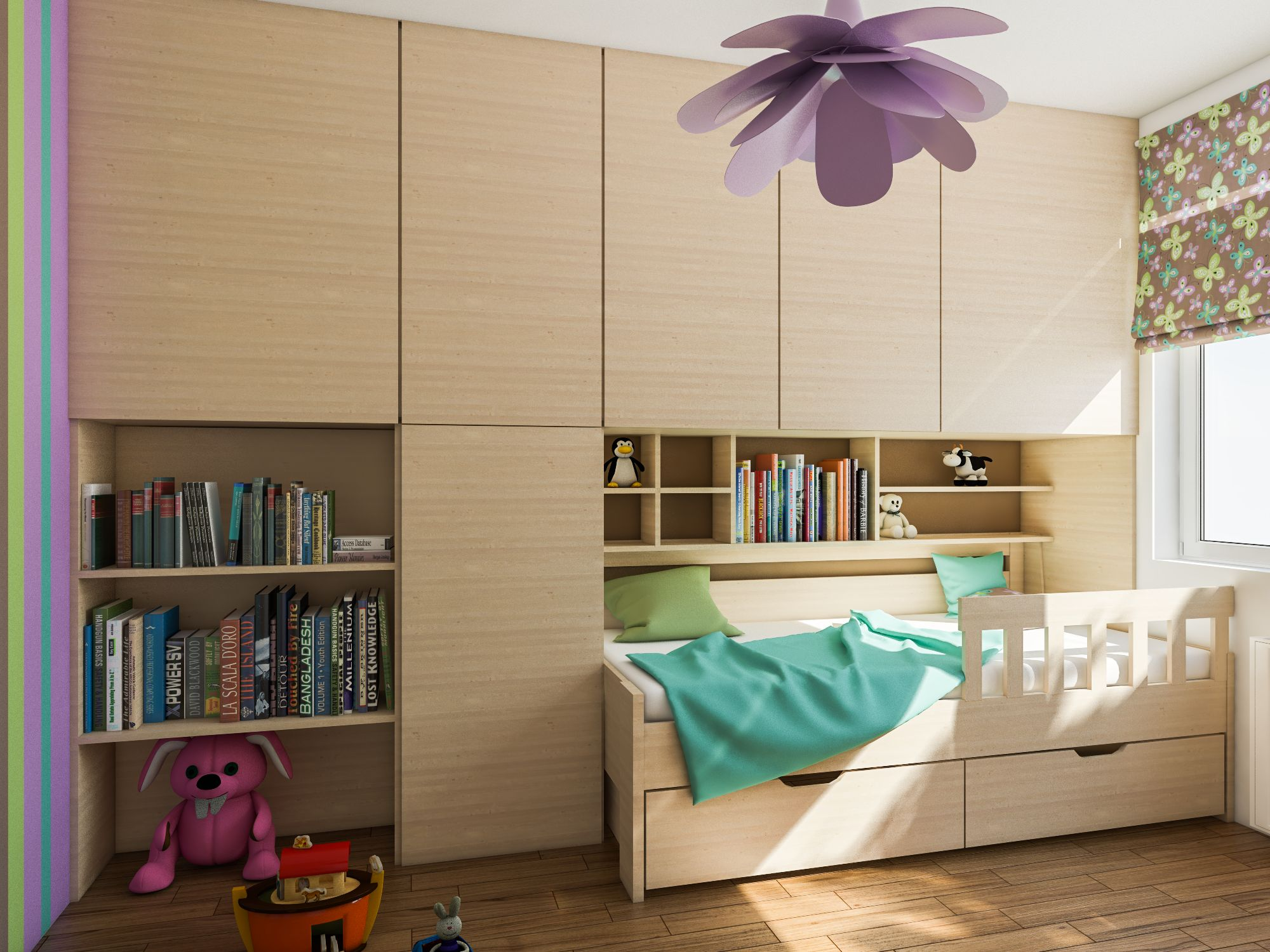 Pokoj, který roste s dětmi