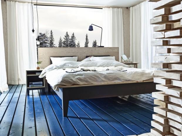 Chuť na barvy. Dokola omílané dřevo v souvislosti s chalupami má opodstatnění. Chaty, ve kterých se nevyskytuje, jsou v podstatě výjimkou. Je to stereotyp, jehož dodržení je jen a jen na vás. Neznamená to však, že musí zůstat v podobě, v jaké vyrostlo. Experimentujte s barvami. Nátěry oživí prostor, překvapí… (foto: IKEA)