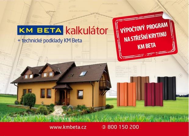 KM BETA Vám zdarma spočítá náklady a nabídne nejlepší cenu!