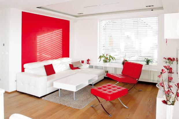 Rozvržením vestavného nábytku bylo dosaženo uklizení všech hlavních úložných prostor do nik tak, aby nemohl vystupující nábytek vrhat stín na sousední stěny. FOTO Jan Beneš