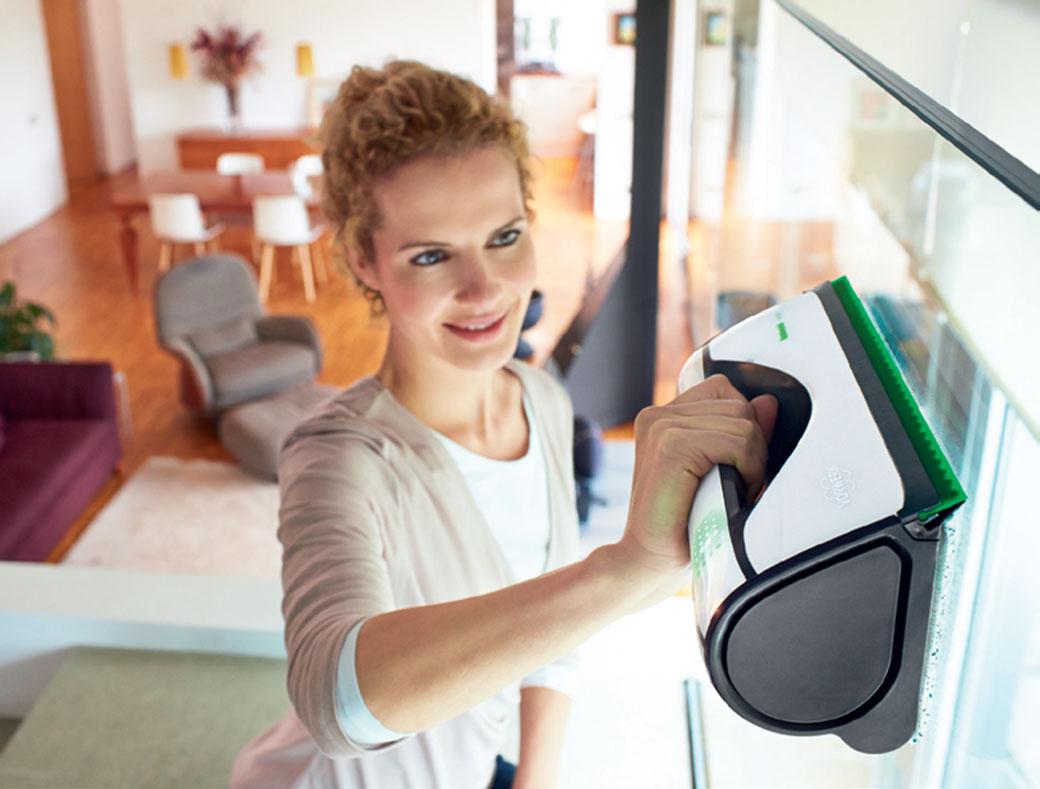 Výherci pěti nových čističů oken Kobold VG100