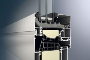 Schüco AWS 90.SI+ hliníkový profil 90 mm, Uf = 1,0 W/(m2 . K)