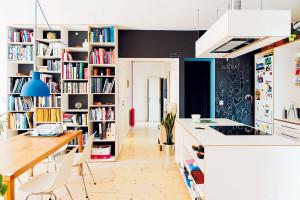 Přízemní byt, který rostl a přizpůsoboval se rozrůstající rodině
