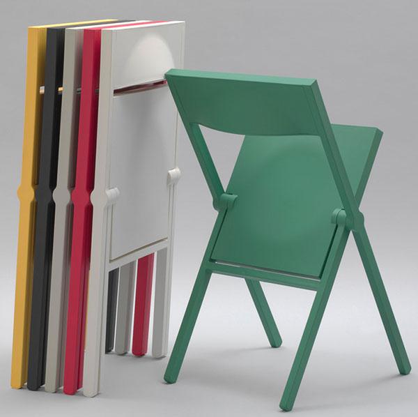 Skládací. Alessi Piana, www.einrichten-design.de