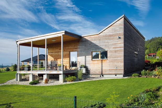 Jedině bungalov! Majitel se rozhodl dát přednost přízemní stavbě před patrovým domem, protože chtěl maximálně využít pozemek atěžit zmožnosti přímého kontaktu se zahradou. FOTO ROBERT ŽÁKOVIČ