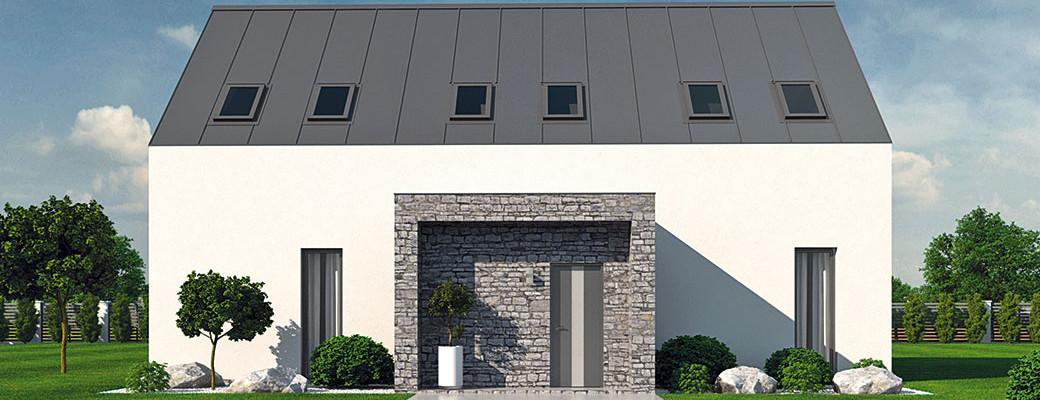 Moderní dům pro 21. století inspirován venkovskými staveními