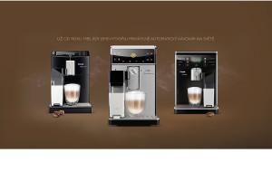 Vše pro Váš dokonalý šálek kávy se ukrývá uvnitř Saeco