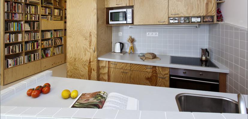 Nekonvenční proměna klasického bytu v panelovém domě
