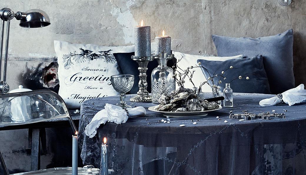 12 x sváteční stolování