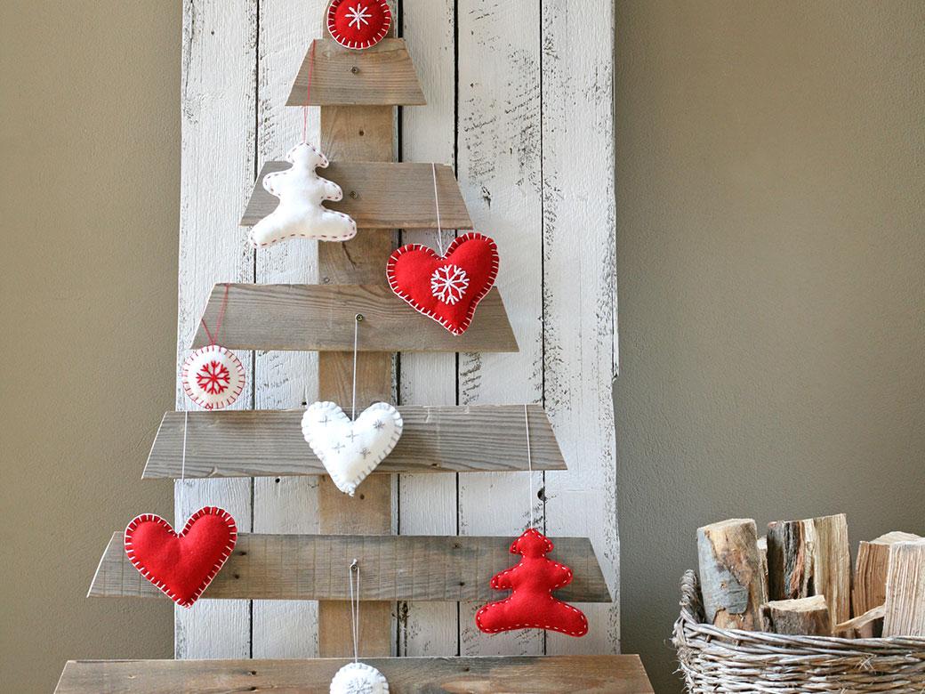 Vánoční stromeček z palet