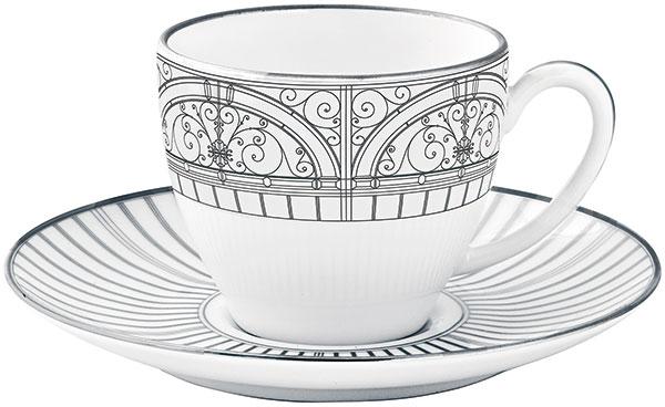 Šálek na kávu,kolekce Belle Epoque ve stylu Art Nouveau, www.haviland.fr, cena na vyžádání